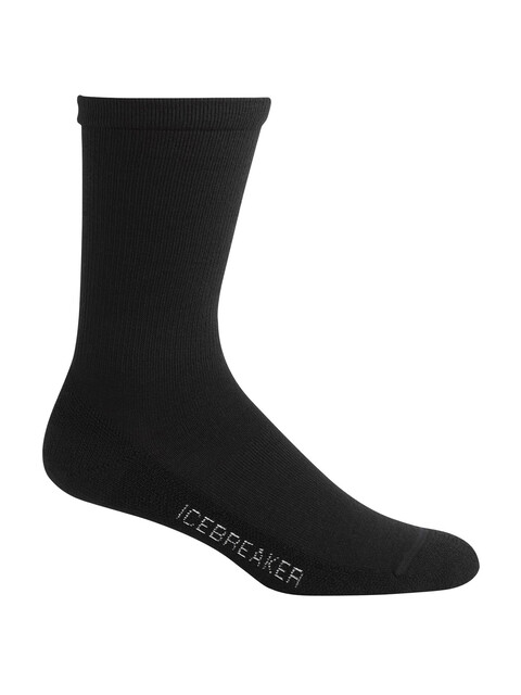 Icebreaker Lifestyle - Calcetines Mujer - negro